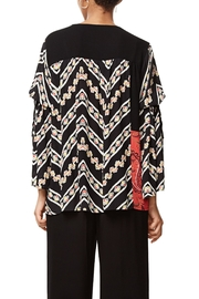 DESIGUAL Bell Sleeve Blouse - Back cropped
