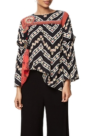 DESIGUAL Bell Sleeve Blouse - Product Mini Image