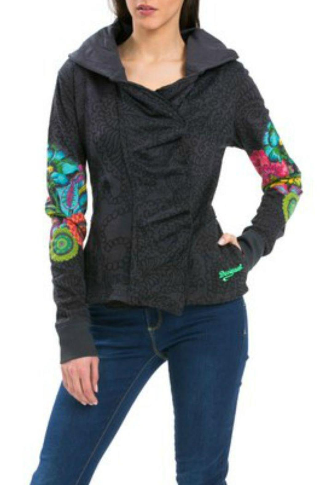 Berta Desigual By Jacket From Limited Hurricane Hooded Hawaii PikwuXZOTl
