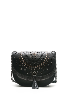 Shoptiques Product: Black Saddle Bag