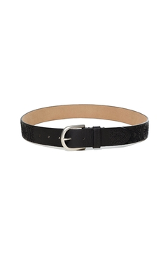 DESIGUAL Black Embroidered Belt - Product List Image