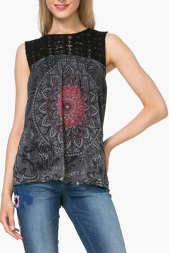 Shoptiques Product: Black Lace Tank