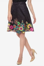 DESIGUAL Black Skirt - Product Mini Image