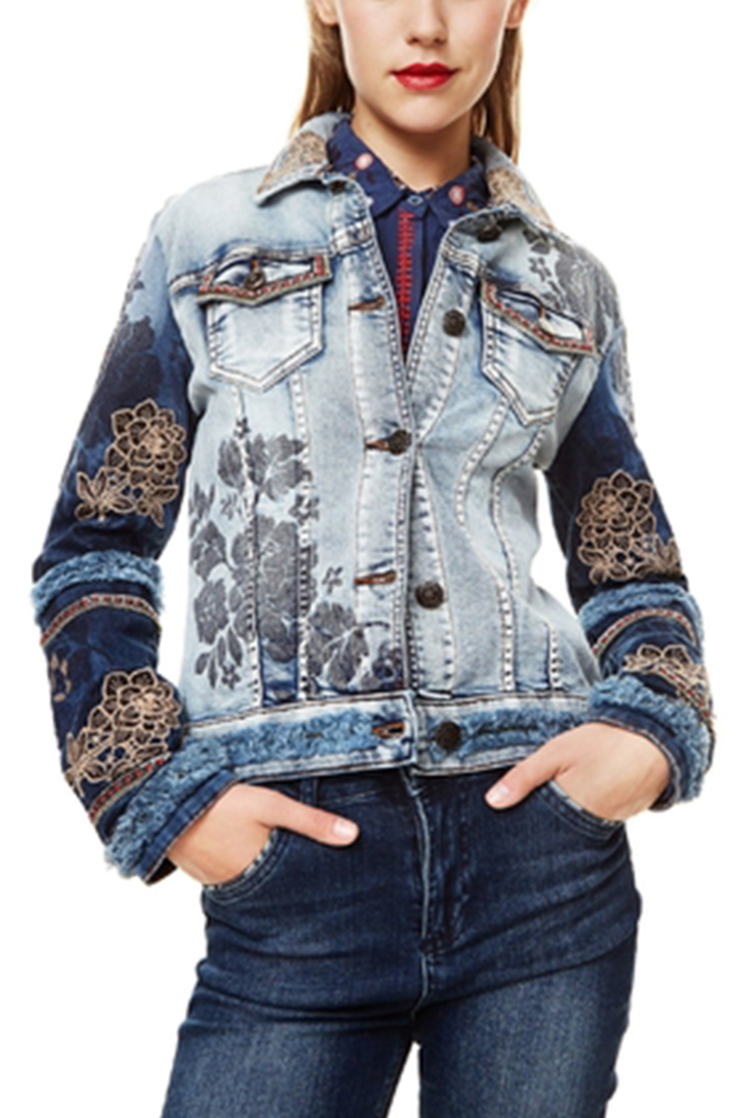 DESIGUAL Blondiblues Denim Jacket - Main Image