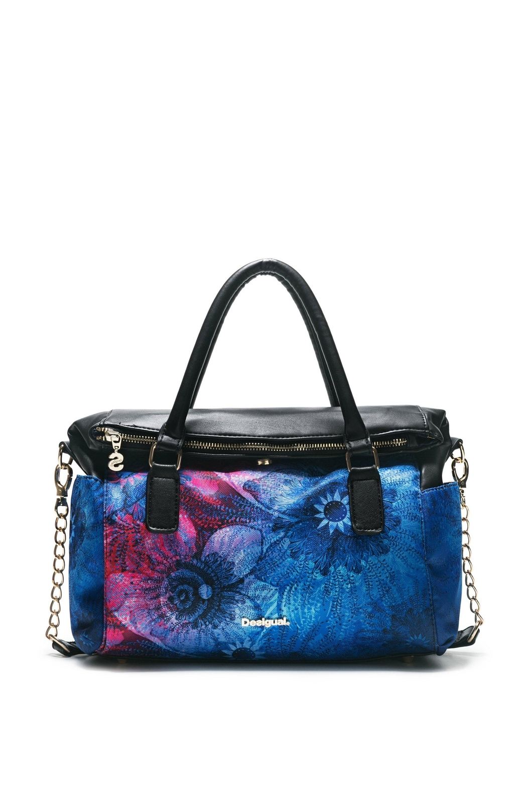 DESIGUAL Blue Top Handle Bag - Front Cropped Image