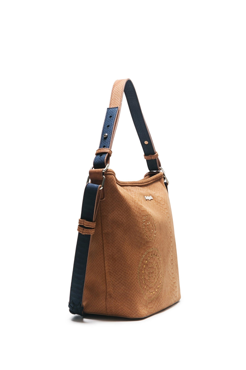 DESIGUAL Brown Shoulder Bag - Side Cropped Image