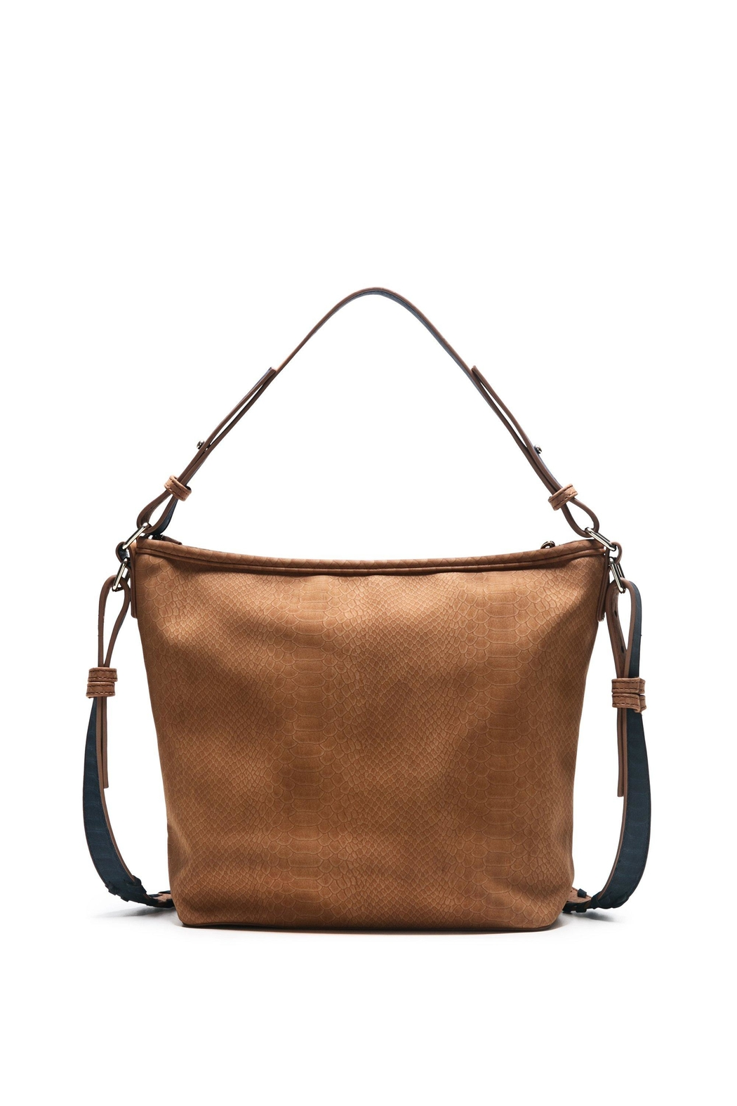 DESIGUAL Brown Shoulder Bag - Back Cropped Image