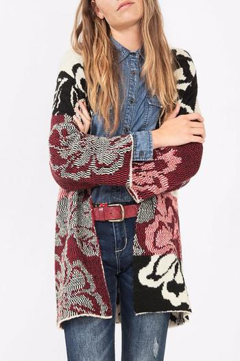 desigual carcassone sweater cardigan from michigan by. Black Bedroom Furniture Sets. Home Design Ideas