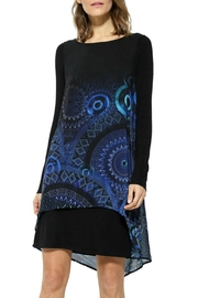 DESIGUAL Carlin Blue Dress - Product Mini Image