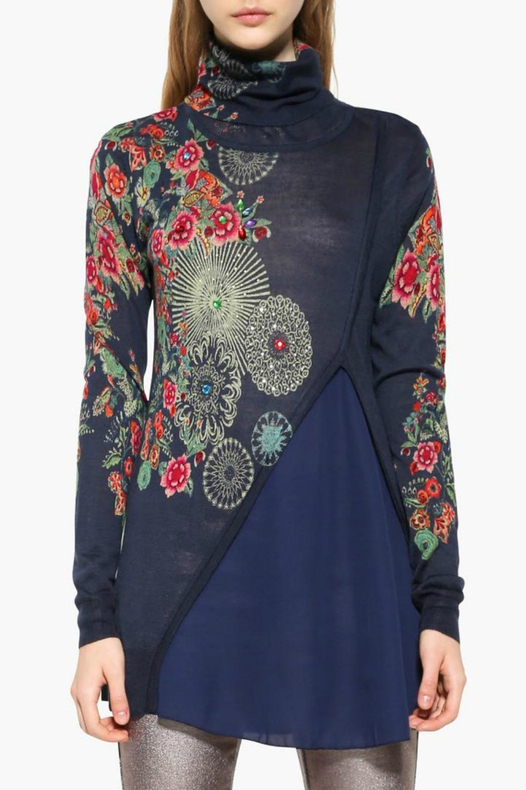 DESIGUAL Chantale Sweater - Front Cropped Image