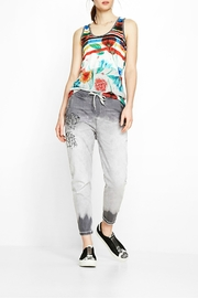 DESIGUAL Chic Floral Tank - Product Mini Image
