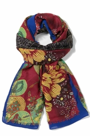 DESIGUAL Colorful Scarf - Front cropped