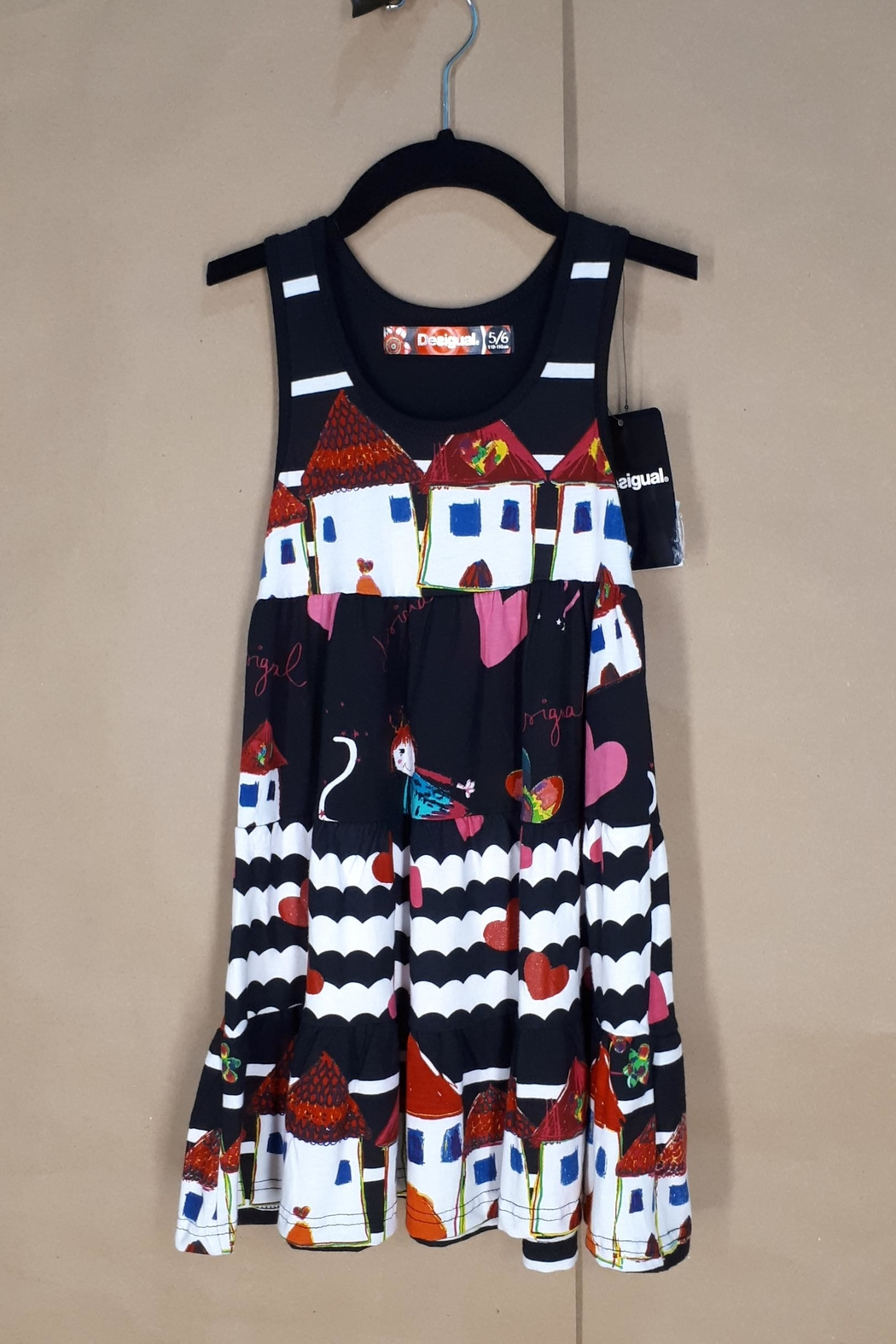DESIGUAL Cotton Moroni Dress - Main Image