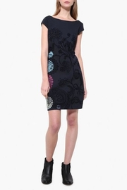 DESIGUAL Crhystel Boatneck Dress - Product Mini Image