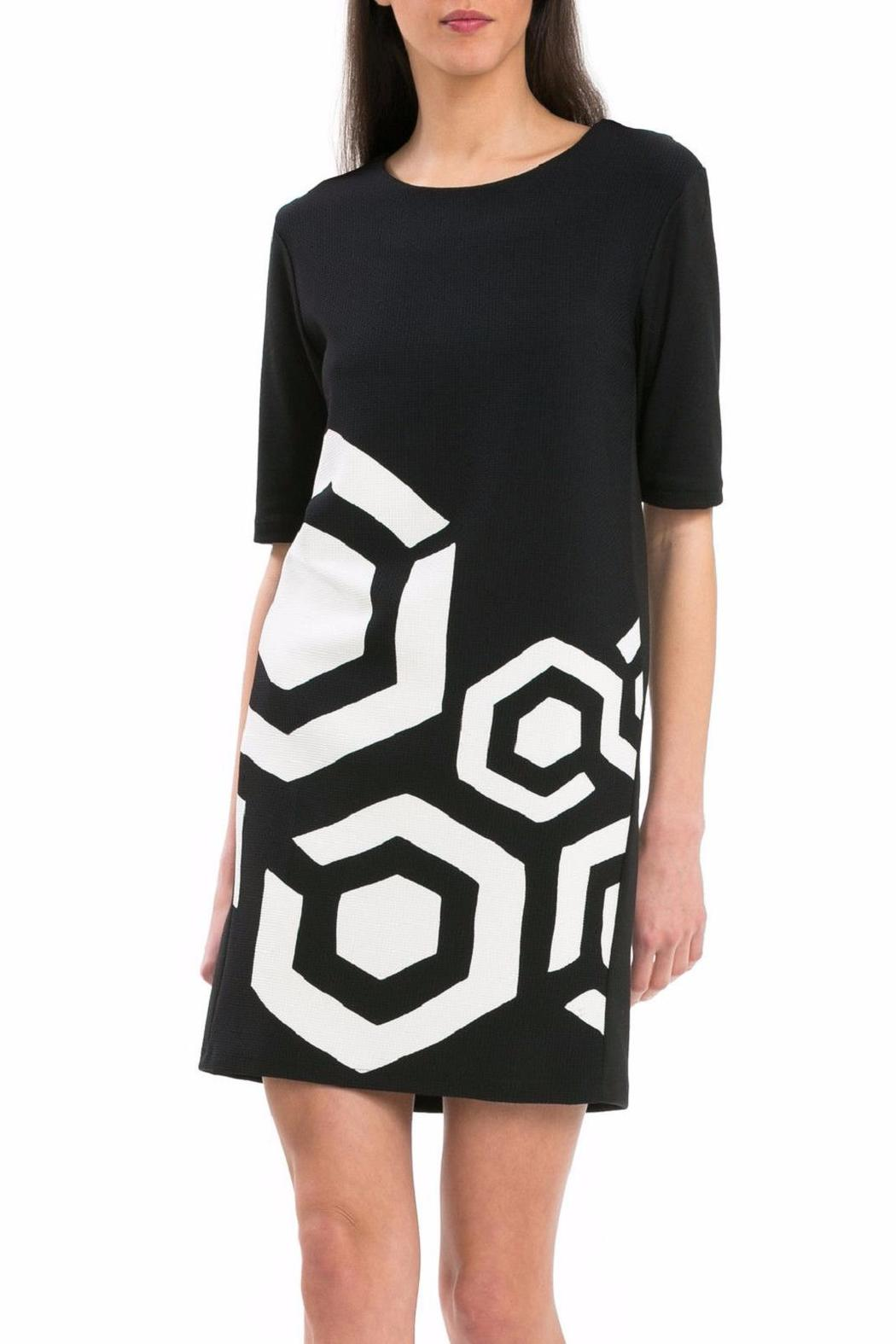 Desigual Cubism Dress Front Cropped Image