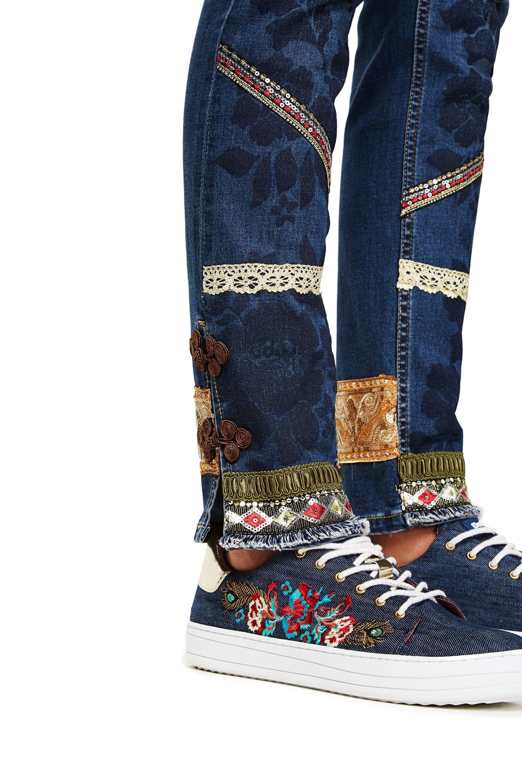 DESIGUAL Desigual Jeans 'One' - Front Full Image
