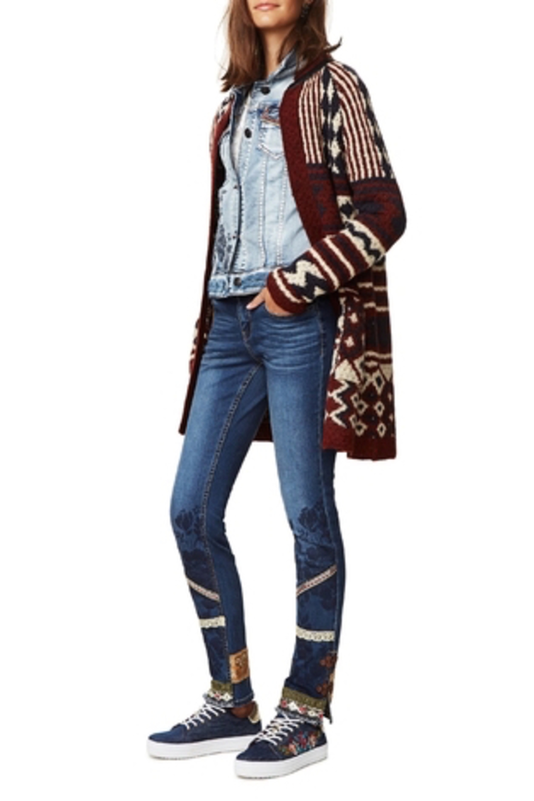 DESIGUAL Desigual Jeans 'One' - Front Cropped Image