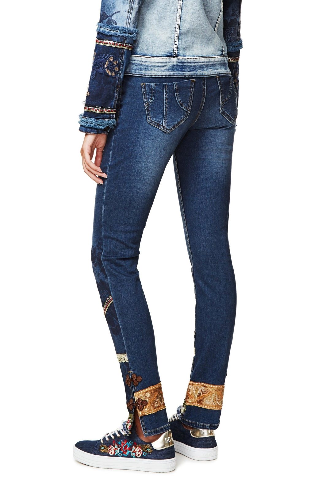 DESIGUAL Desigual Jeans 'One' - Side Cropped Image