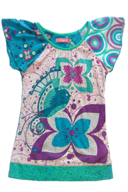 DESIGUAL Elaine Blouse - Front cropped