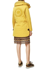 DESIGUAL Detailed Convertible Coat - Front full body