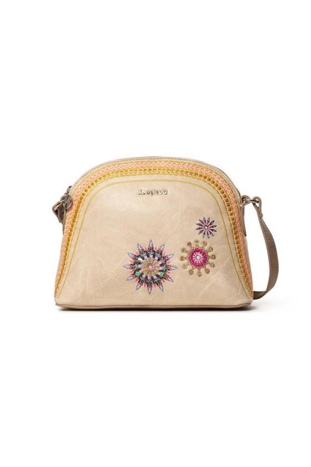 DESIGUAL Embroidered Crossbody Bag - Main Image
