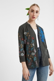 DESIGUAL Embroidered Flowers Blouse - Product Mini Image