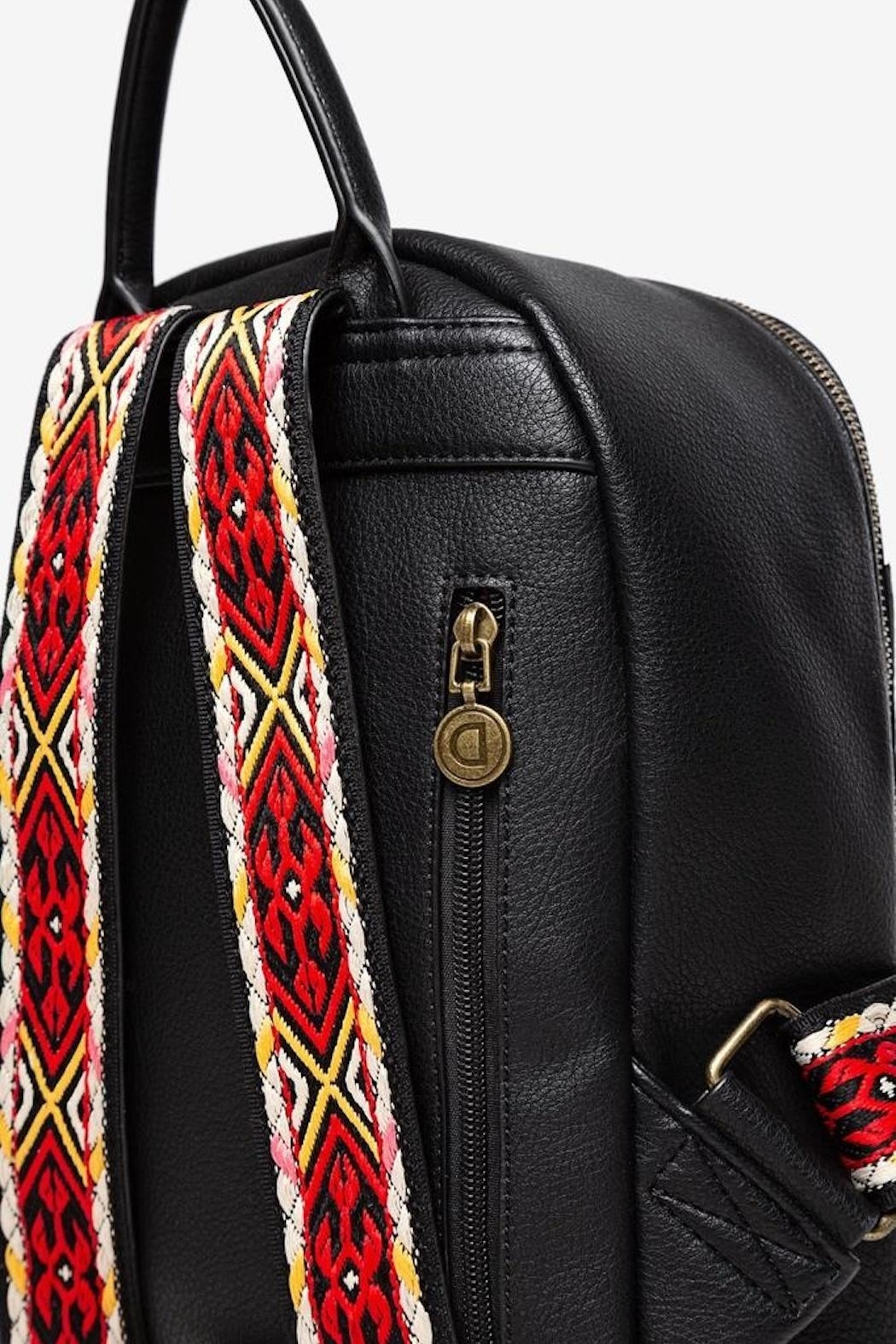 DESIGUAL Embroidered Mandala Backpack - Back Cropped Image