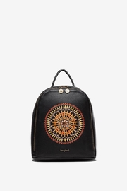 DESIGUAL Embroidered Mandala Backpack - Front cropped