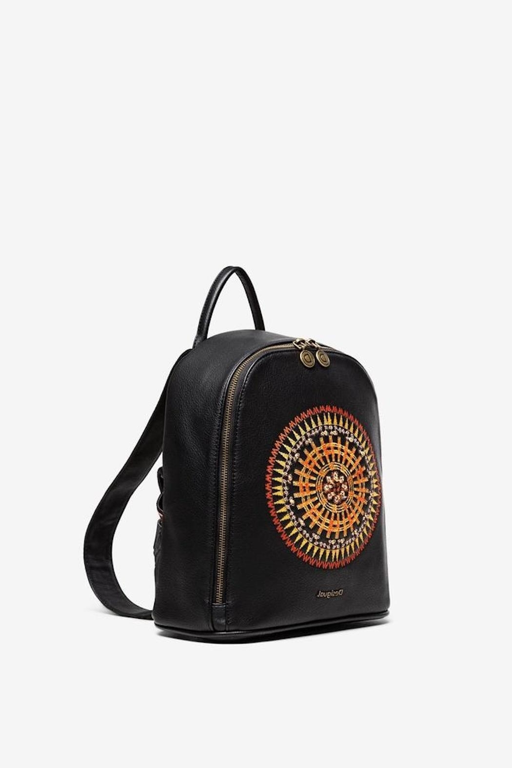 DESIGUAL Embroidered Mandala Backpack - Front Full Image