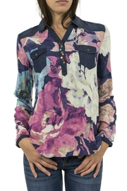 DESIGUAL Floral Blouse - Product Mini Image