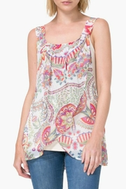 DESIGUAL Floral Ivory Tank - Product Mini Image
