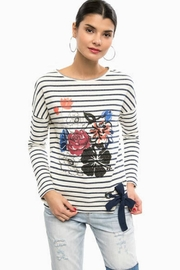 DESIGUAL Floral Sweat Shirt - Product Mini Image
