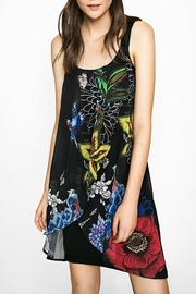 DESIGUAL Floral Tuliped-Chiffon Dress - Product Mini Image