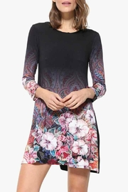 DESIGUAL Freya Black Dress - Product Mini Image