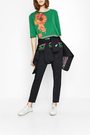 DESIGUAL Green Floral Top - Other