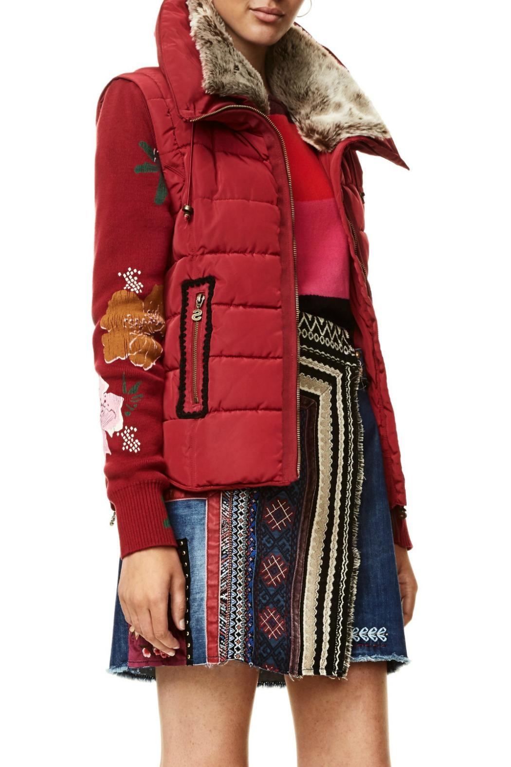 DESIGUAL Emilia Red Jacket - Main Image