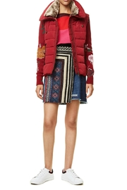 DESIGUAL Emilia Red Jacket - Front cropped