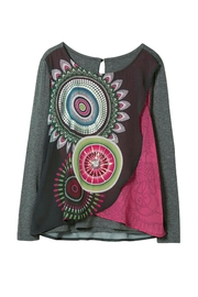 DESIGUAL Kaleidoscope Top - Front cropped