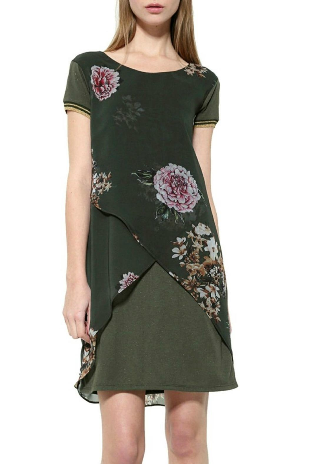 DESIGUAL Kina Floral Dress - Main Image