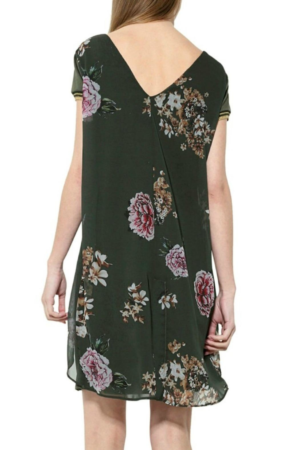 DESIGUAL Kina Floral Dress - Front Full Image
