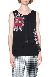 DESIGUAL Lucile Sleeveless Blouse - Front cropped