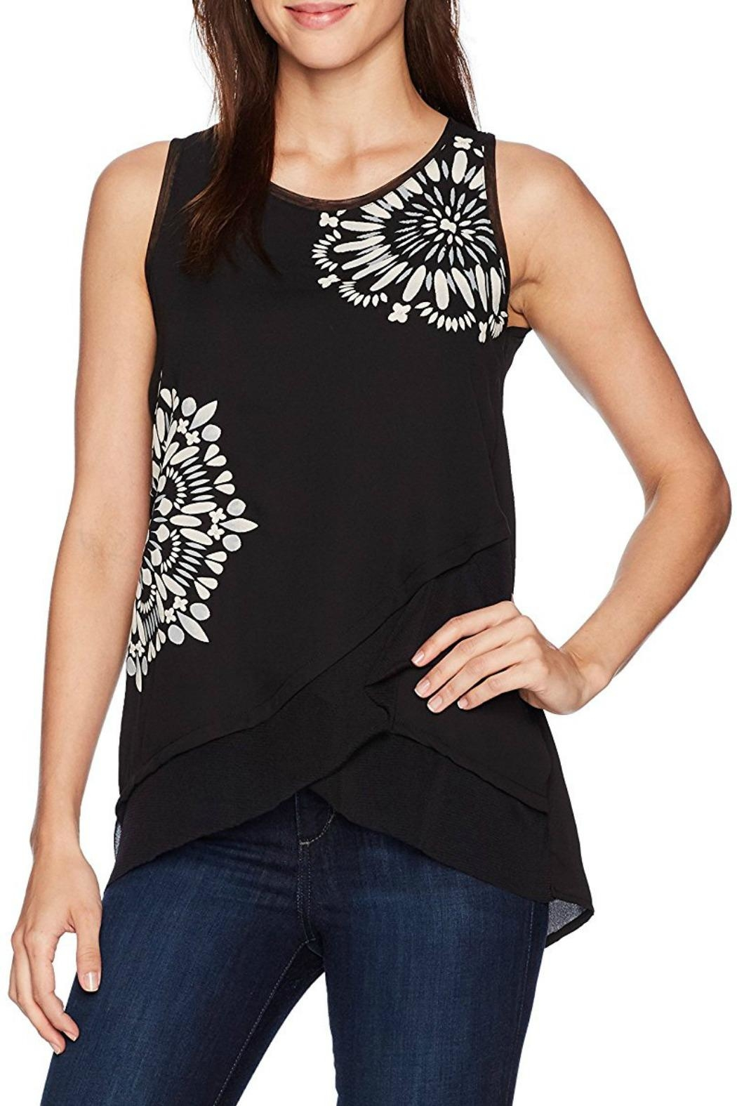 DESIGUAL Martin Black Blouse - Front Cropped Image