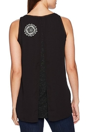 DESIGUAL Martin Black Blouse - Front full body