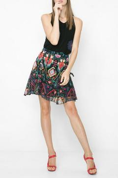 Shoptiques Product: Mesh Ruched Skirt