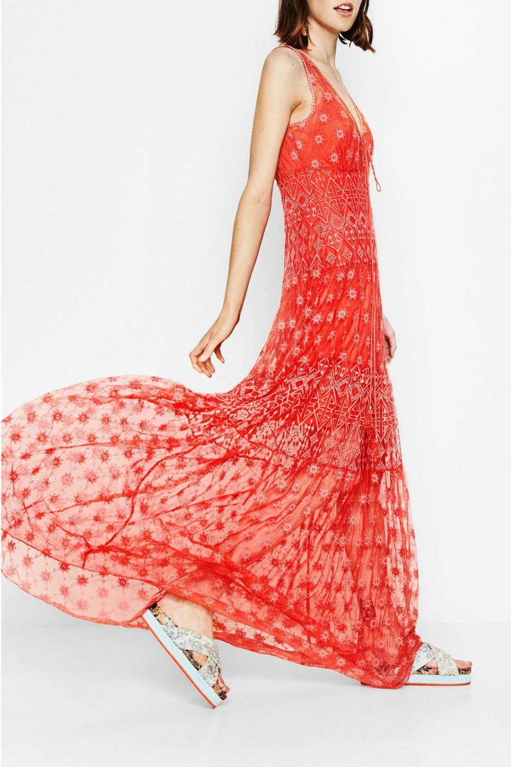 DESIGUAL Miravet Long Summer Dress from Canada by Blue Sky Fashions ...