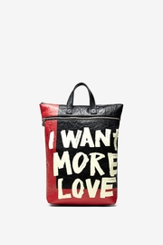 DESIGUAL More Love Backpack - Front cropped