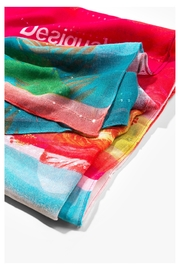 DESIGUAL Multicolor Scarf - Front full body