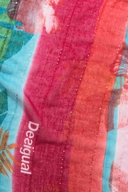 DESIGUAL Multicolor Scarf - Back cropped