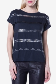 DESIGUAL Navy Knitted Shirt - Product Mini Image