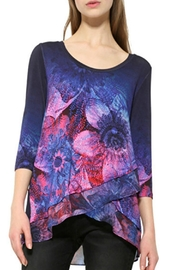 DESIGUAL Navy Soft T Shirt - Product Mini Image